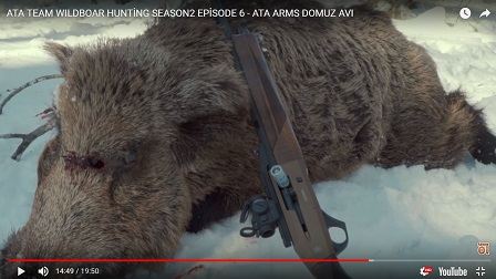ATA TEAM WILDBOAR HUNTİNG SEASON2 EPİSODE 6 - ATA ARMS DOMUZ AVI