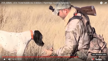 ATA ARMS - ATA TEAM Keklik Avı 3.Bölüm / Partridge Hunting Episode 3