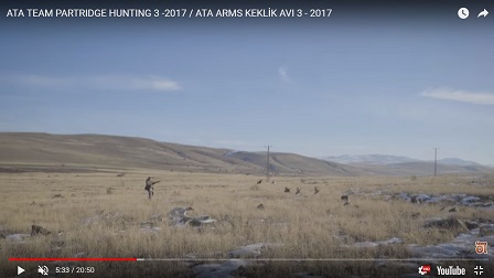 ATA TEAM PARTRIDGE HUNTING 3 -2017 / ATA ARMS KEKLİK AVI 3 - 2017