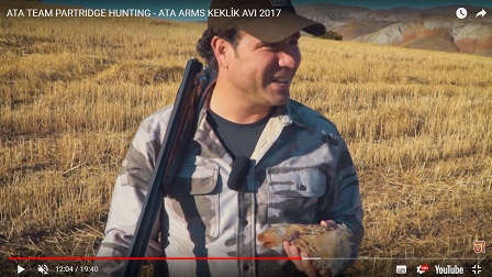 ATA TEAM PARTRIDGE HUNTING - ATA ARMS KEKLIK AVI 2017