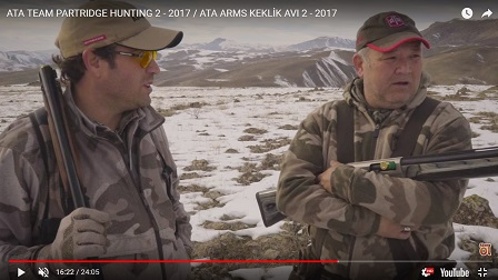 ATA TEAM PARTRIDGE HUNTING 2 - 2017 / ATA ARMS KEKLİK AVI 2 - 2017
